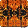 Width 1 M Flame Design Aqua Print Hydrographic Film&Tska136-1