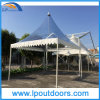 Aluminum Gazebo Tent with Clear Roof 5X5m