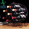 Creative Iron Seven-Holder Wine Rack of Art Design Product with Competitive Price