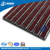 Aluminum Mat with Brush/Rubber Carpet (MS-990)