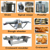 Fully Demark Croissant Bread Production Line with Ce and ISO