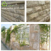 High Quality Wall Cladding G682 Yellow Granite Mushroom Stone with Grooved Edge