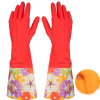 Waterproof Household Glove Warm Dishwashing Rubber Glove