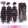 Top Quality 100%Human Remy Virgin Deep Wave Curly Hair