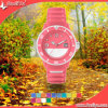 High Quality Plastic Case Silicone Luxury Wrist Watches (DYS80121)