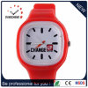 2015 Jelly Red Fashion Super Slim Quartz Watch/Kijk (DC-958)
