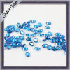 Small Size Blue Oval Shape Cubic Zirconia