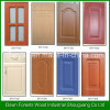 PVC Membrane MDF Kitchen Cabinet Door Customized Design