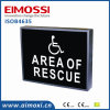 LED One-Piece Housing AVB Method safety Sign