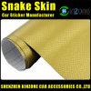 Snake Skin Vinyl Car Wraps