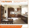 Dark Solid Wood American Shaler Style Kitchen Cabinets/ Kitchen Cupboards