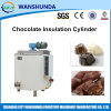Chocolate Insulation Cylinder with 304 Stainless Steel