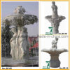 Stone Fountain Carved Marble Water Fountain for Garden Outdoor (YKOF-35)