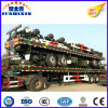 3 Axles 40FT Container Green Flatbed Semi Trailer