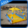 Popular Inflatable Pool with Tent Roof for Water Ball Rental