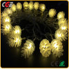 20 LED Pine Cone Solar String Lights for Wedding Decoration Light