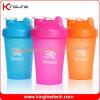 400ml Plastic Blend Shaker Bottle with Blender Mixer Ball Inside (KL-7011)