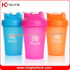 400ml Plastic Shaker Bottle withstainless steel ball (KL-7011)