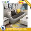 Modern Europe Design Steel Metal Leather Waiting Office Sofa (HX-8NR2197)