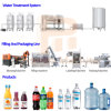 Turnkey Project Automatic Pure Alkaline Aqua Water Treatment to Packaging a to Z Investment Factory Water Drink Bottle Bottling Filling Machine