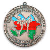 Stamping Logo Antique Silver Plated Medal (GZHY-MB-005)