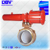 Metal to Metal Seated Buttweld Type Butterfly Valve