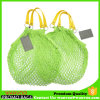 Recyclable Organic Cotton Muslin Produce Bag with PU Handle