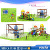 Indoor Playground Equipment Rope Course Vs2-160315-33