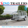 Fully Welded Single Axle Trailers