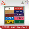 Customized Metal Number Plate