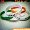 Custom Rubber Watch Band Silicone Mosquito Wristband with Debossed Design