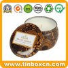 Customized 3.5oz Seamless Colored Candle Tins for Wax Packaging