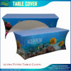 Fast Delivery Cmyk Printing Ultra Fitted Stretch Elastic Table Cover