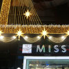 High Quality Shopping Mall Hotel LED Curtain Decoration Lights