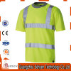 Reflective Strip High Visibility Safety T-Shirt of 100% Cotton