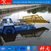 Small Aquatic Weed Cutting Boat Semi Automatic Algae Harvester