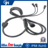 1 to 3 IP68 Waterproof Rubber Cable with Connector for LED