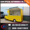 New Designed Moving Towable Ice Cream Mobile Food Cart with Ce