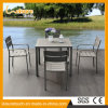 All Weather Durable Outdoor Open Air Balcony Garden Furniture Coffee Shop Table and Chair