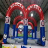 2016 New Obstacle Soccer Dribble Inflatable Football Game