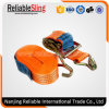 50mm 5t Ratchet Tie Down Straps with Double J Hooks