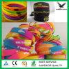 Rainbow Silicone Wristband Customized