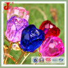 Crystal Glass Rose Flower Wedding Table Decorations (JD-CF-100)