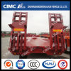 Wide Use Cimc Huajun 13m Axle Lowbed Semi Trailer