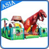 Inflatable Jurassic Park Obstacle Course House
