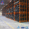 Steel Collapsible Warehouse Tire Rack with Wire Deck