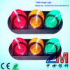 8 Inch Easy Installation LED Flashing Traffic Light / Semaphore Light