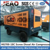 Portable Screw Diesel Air Compressor Worked in Cold Plateau with 194kw Diesel Engine