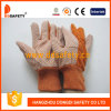 Ddsafety 2017 Garden Gloves Polka Orange Dots Safety Gloves