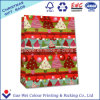 Custom Low Cost White Kraft Craft Merry Christmas Paper Bag for Gift